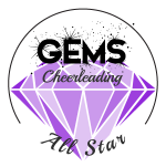 Gems All Star Cheerleading Logo